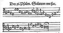 Martin Luther: Ach Gott, vom Himmel sieh darein. Nach Pslam 12.