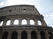 The Colosseum or Anfiteatro Flavio