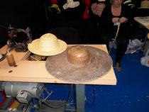 Il cappello di paglia fatta a mano