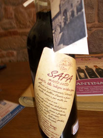 Sapa - made at Ortezzano, Le Marche