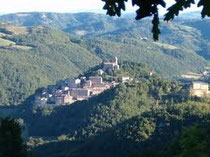 Montefortino, home of Ristorante Da Peppa