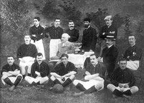 A.C. Milan  (or Milan Foot-Ball and Cricket Club) in 1901