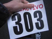 Die erste Nummer auf dem Weg zum Läufer.