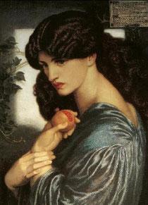 """""""Persefone"""" Gabriel Dante Rossetti (1874)"""
