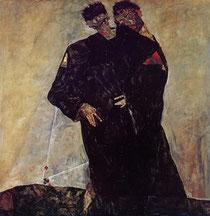 """""""L'Eremita"""" di Schiele"""