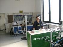 Service: Dreirad Werkstatt aufsuchen