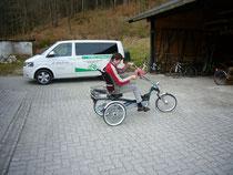 Easy Rider 2 Stabilität beim Fahren