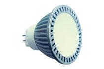 Светодиодная лампа LC-120-MR16-GU5.3-3-220-R Красный