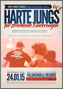 """Flyer """"Harte Jungs für strahlende Kinderaugen Vol.2"""""""