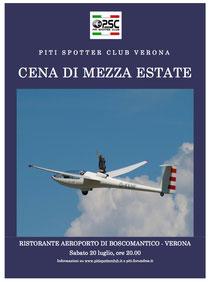 Cena di Mezza Estate - Sabato 20 luglio 2013  Ristorante Aeroporto di Verona Boscomantico