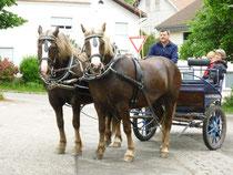 Franzi (links) und Flittchen S