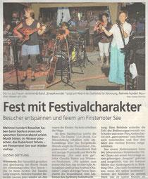 Fest mit Festivalcharakter