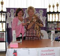 Фото на память с Президентом WCF Annelise Hackmann
