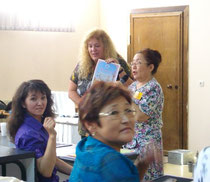 Christine Coombe at Yakut TESOL Conference - 2011