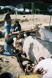 Etude en cours de la carrière de la Flâtrière à la Boissière de Montaigu