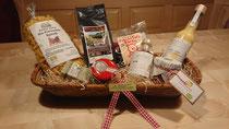 Regionale Produkte in der Brotform