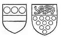 Coats of Arms of Devereux and Bridgeman