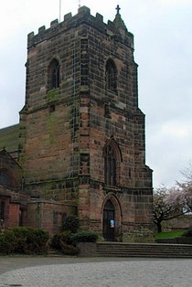 The 15th-century tower