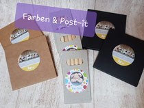 Farben Stück Fr. Post-it Stück Fr.