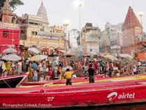 Le rive del Gange