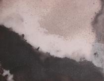 détail d'un diptyque noir et blanc