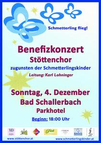 2011 Benefizkonzert Stöttenchor Bad Schallerbach Schmetterlingskinder
