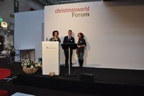 lecture on the forum at the christmasworld
