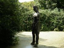Devel Hole Statue