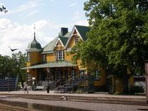 Bahnhof von Mariefred