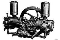 Contra-Motor wurde bis 1902 gebaut