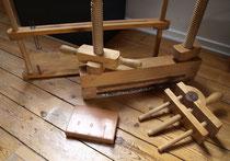 Telai e presse in legno
