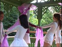 Ballettschule Lizius - Auftritt im Mohr-Villa Pavillon
