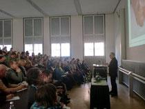 Vortrag von Christian Moosmann vom Team der Tagungsleitung