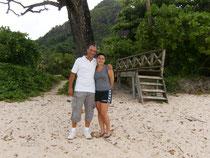Bei der Grande Anse