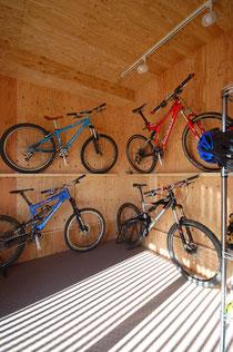 自転車が趣味 ダウンヒルバイク