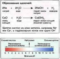 Рис. 37. Шкала величин pH