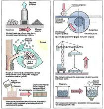 Рис. 2. Химические процессы (примеры) Рис. 3. Физические процессы (примеры)