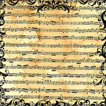 Vintage Music Sheets