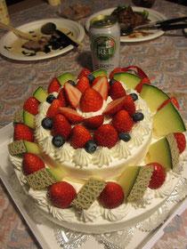 ご覧あれ!巨大ケーキ!