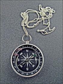 Aluminium Kompass