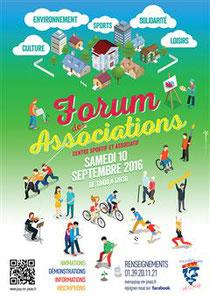Cours de sophrologie - association Le Sablier - Forum des associations 2015