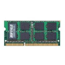 BUFFALO ノート用増設メモリ PC3-8500(D