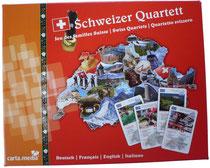 Schweizer Quartett Spiel DaF