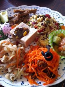 三浦の彩野菜の美しさにうっとり。今回スイスチャードというお野菜をクスクスにトライしました!