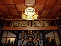 本堂八角照明(大阪茨木浄土宗大念寺)