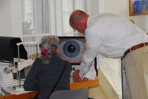 Irisdiagnose mit Dr.med.Rainer Graf