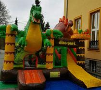 Hüpfburg Dinopark
