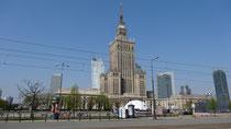 i bin vom 3.- 6. Mai in Warschau