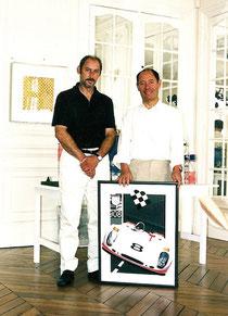 Philippe Burlet et Claude Picasso