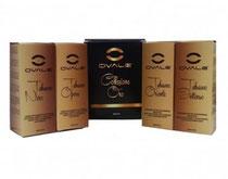 Liquidos eCig Ovale Colección ORO - Made in Bulgaria